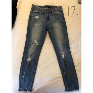 Flying Monkey ripped skinny jeans, size 28